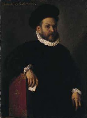 Portrait of Leonardo Salvagno