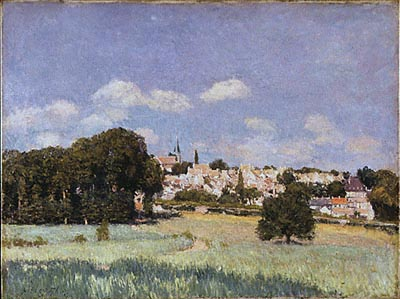 View of Saint-Cloud, Sunshine
