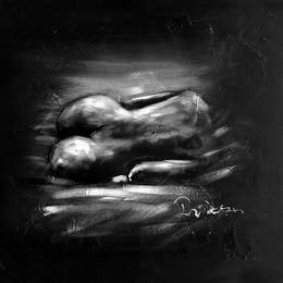 Black and White Paintings N07
