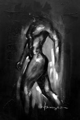 Black and White Paintings N53