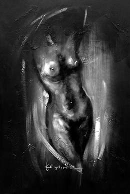 Black and White Paintings N91